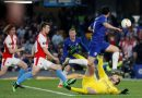 Pedro Chelsea hold off spirited Slavia Prague to reach semi-finals