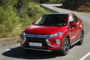 The 2018 Mitsubishi Eclipse Cross CUV Is A Beauty For