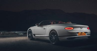 Bentley Unveils Its 2019 Continental GT Convertible