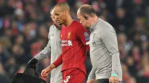 Liverpool's Fabinho ruled out until New Year with ankle injury.