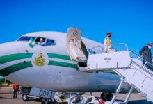 Buhari Arrives