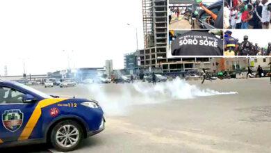 Endsars Anniversary Teargas