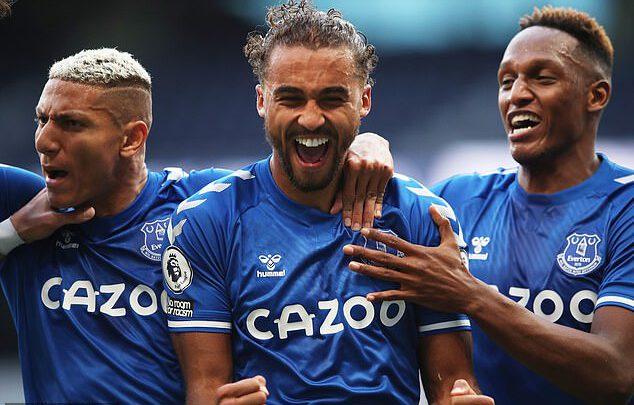 Goal Everton 1