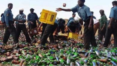 Hisbah Destroying Bottles