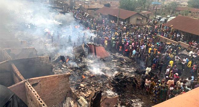 Ibadan Market Fire