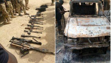 Nigerian Troops Attack Terrorists In Damasak March 2021~2