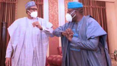 President Buhari Chair Govs Forum Dr Fayemi 1 768x542