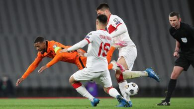 The Netherlands Slumped To A Dramatic 4 2 Loss To Turkey In Istanbul In Their Opening 2022 World Cup Qualifier 1