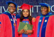 Dr Akinwumi Adesina Atiku And Mary Katambi At American University Of Nigeria