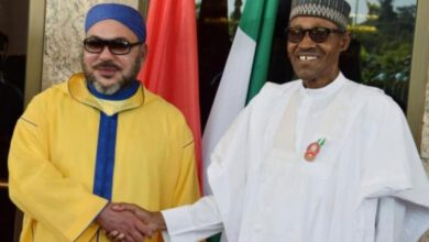 Muhammadu Buhari King Morocco Mohammed