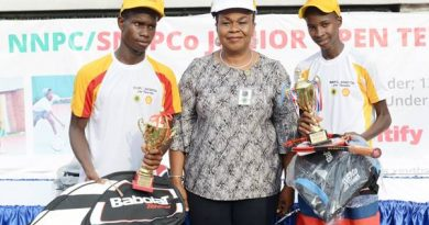 Champions emerge in NNPC/SNEPCo Junior Tennis Tournament
