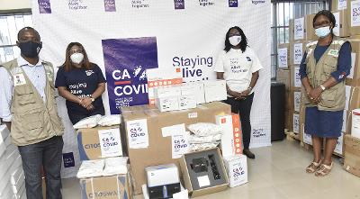 COVID-19: CACOVID boosts testing with N1.4bn medical equipment